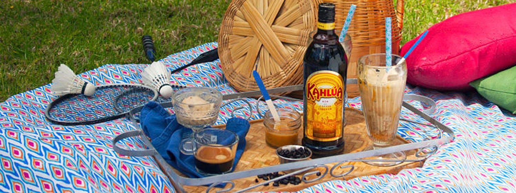 Kahlua Caramel Affogato