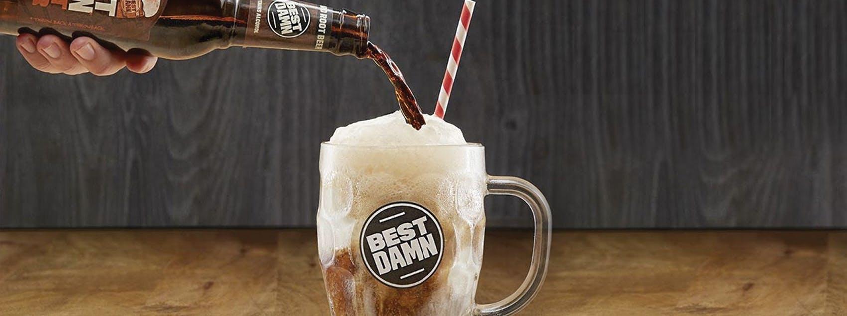 Best Damn Root Beer Float