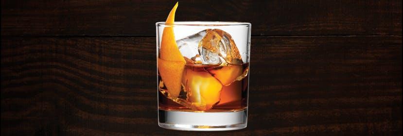 Anejo Rum Old-Fashioned
