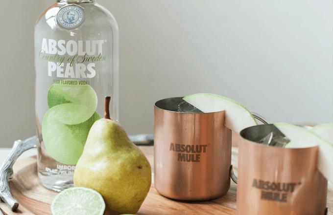 Absolut Pears Mule