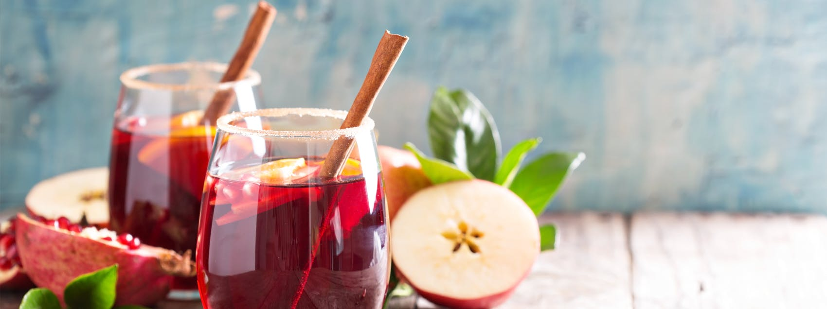 Winter Fruit Sangria
